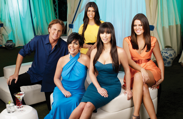 Hanging with Bruce and the Kardashians