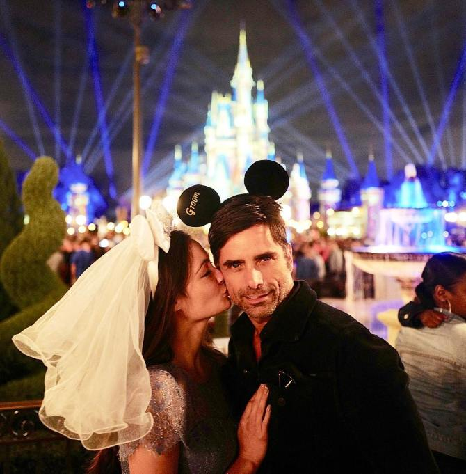 Celebrity Weddings John Stamos and Caitlin McHugh