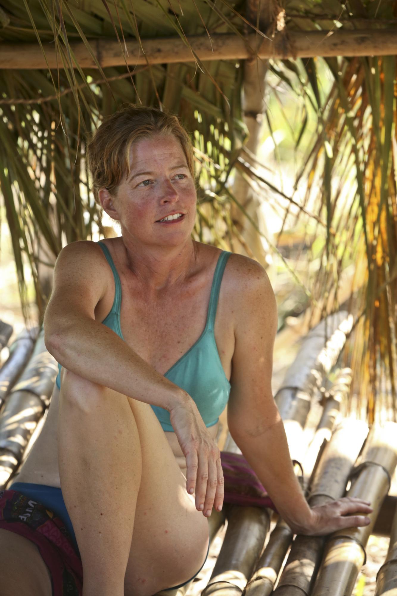 Kass McQuillen on Survivor: Second Chance