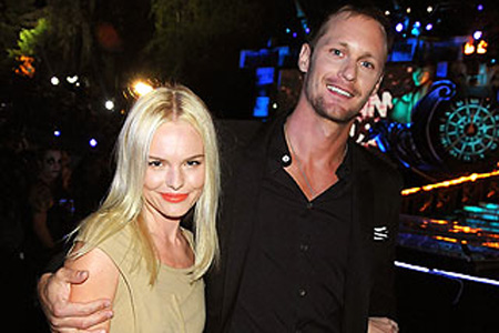 Kate Bosworth and Alexander Skarsgard