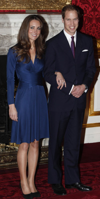 Kate Middleton navy blue Issa dress on sale Wednesday at Net-a-Porter