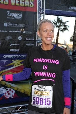 Kate Gosselin Las Vegas marathon