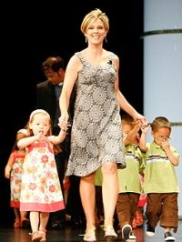 Kate Gosselin flies solo for TLC