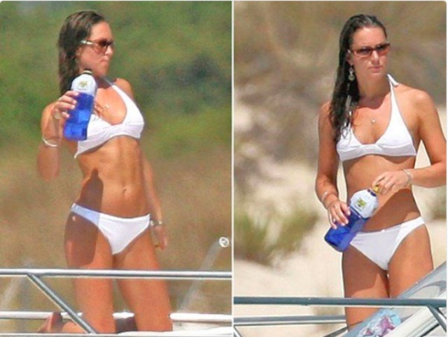 Kate Middleton in a bathing suit