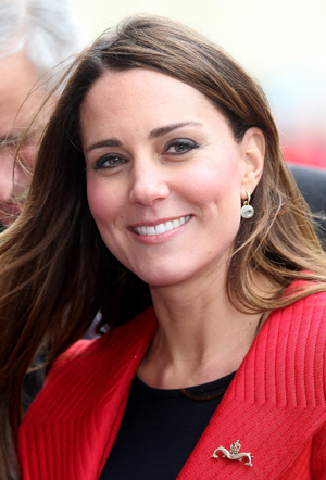 Kate Middleton godmother to a cruise ship
