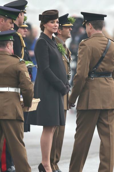 Pregnant Kate Middleton - St. Patrick's Day
