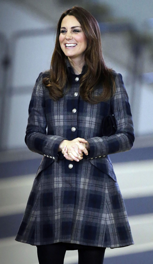 Kate Middleton visits in Scotland