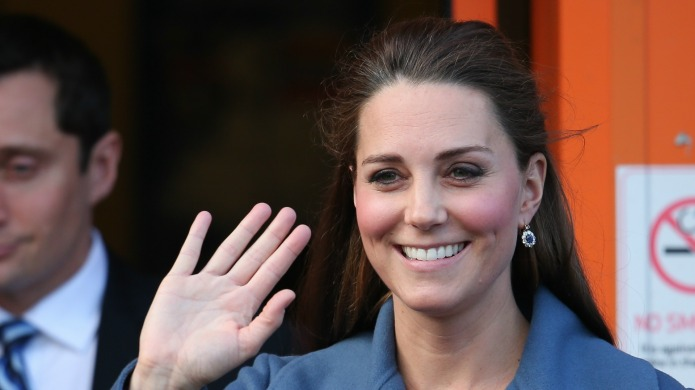 Pregnant Kate Middleton faced with a