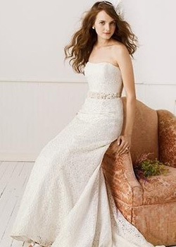 Lace Fit and Flare Gown