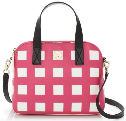 Kate Spade Checker Place Maise Bag $288