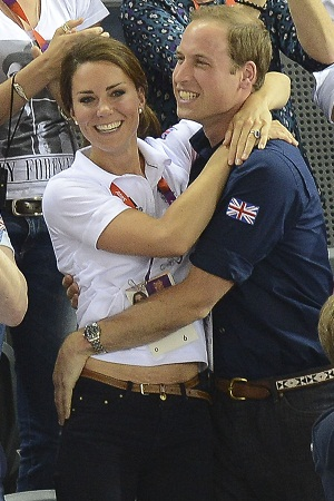 Kate and Wills at the Olympics