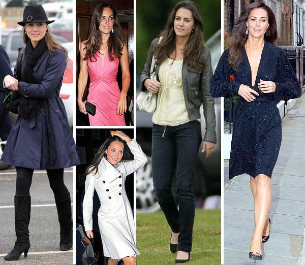 Kate's royal styles