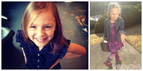 Katie Kavulla's kids - Janie and Meg