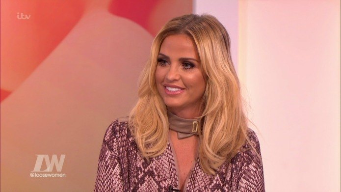 Katie Price made quite an impression