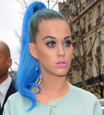 Celeb Hairstyle of the Week: Katy Perry's cute ponytail ...