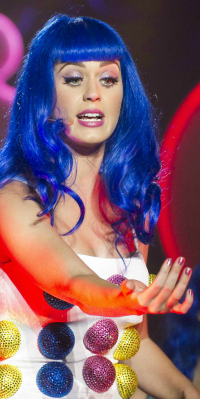 Katy Perry During a Performance