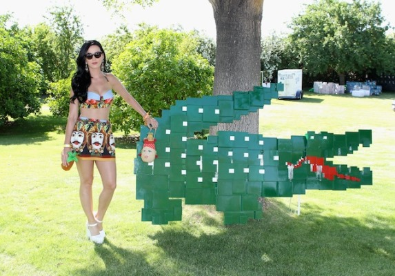 Katy Perry at the Lacoste L!ve party at Coachella 2013