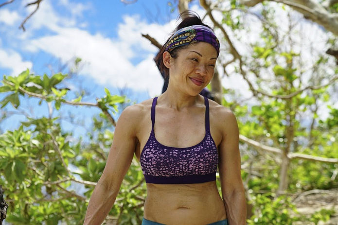 Survivor's Lucy Huang is still angry