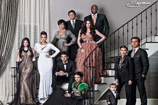 2010 Kardashian Christmas Card