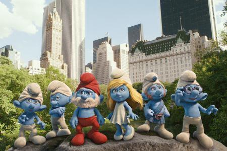 Visiting The Smurfs on their home