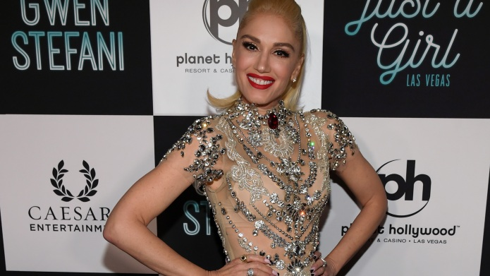 Gwen Stefani on the red carpet