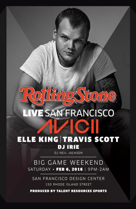 'Rolling Stone' Super Bowl party 2016