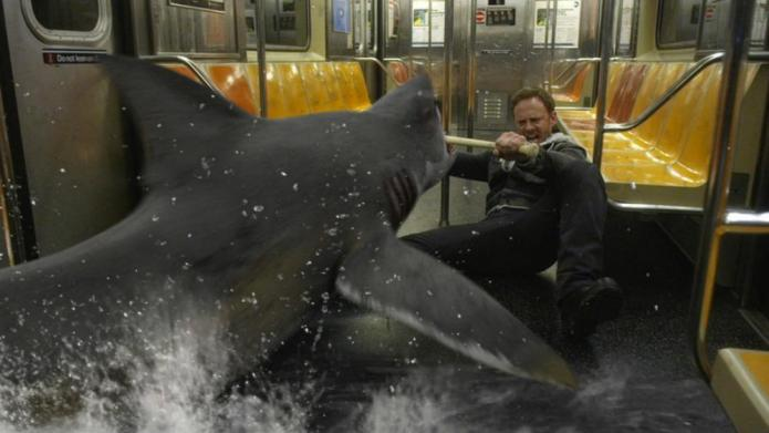 Look out, Mr. President! Sharknado 3