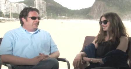 Anne Hathaway dishes Rio