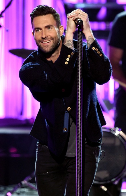 Adam Levine Maroon 5 2016 American Music Awards