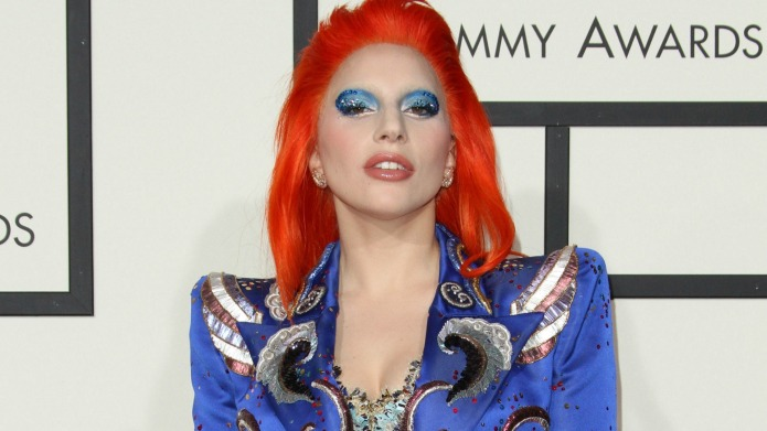 Lady Gaga shows her love and