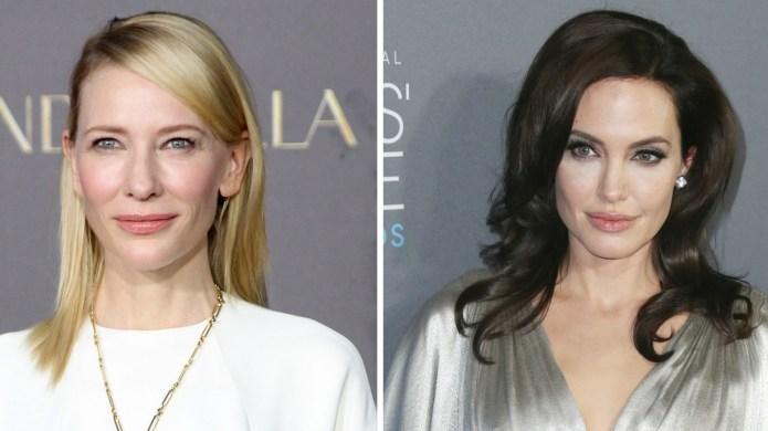 Cate Blanchett, Angelina Jolie just stood