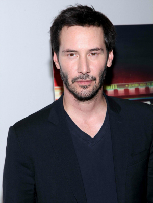 Keanu Reeves at Metropolitan Museum of Art