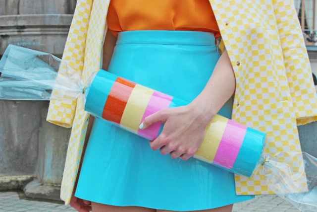 Fashion accessories inspired by fast food