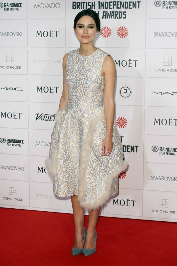 Keira Knightley's maternity wardrobe