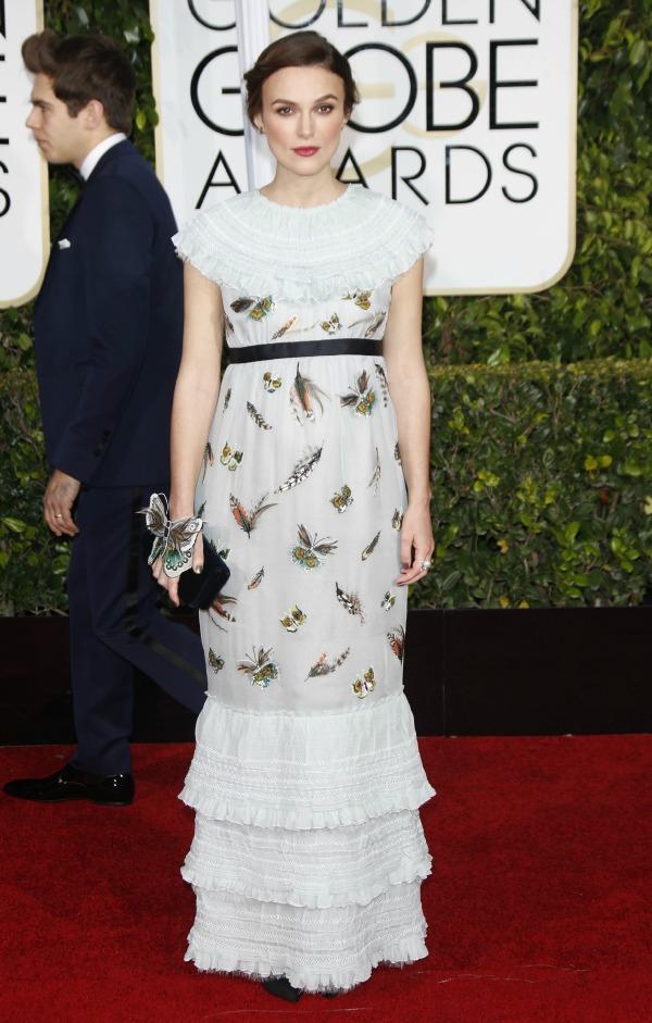 Keira Knightley's maternity style