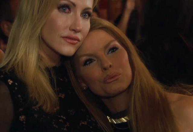 Brandi and Stephanie