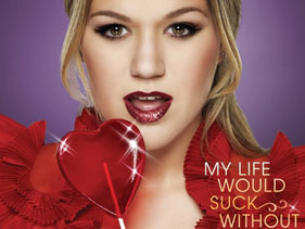 Kelly Clarkson readies for Valentine's Day?