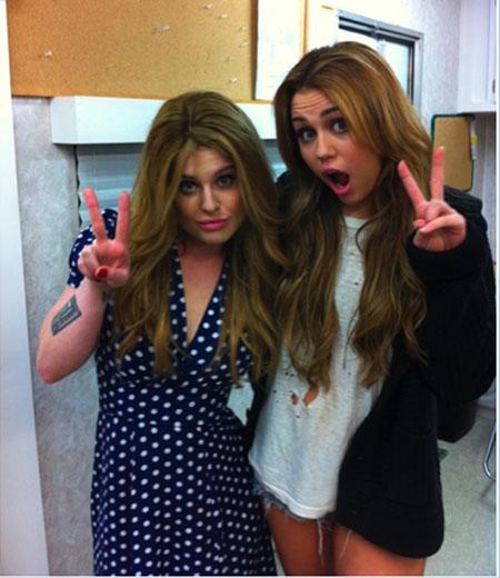 Kelly Osbourne Miley Cyrus