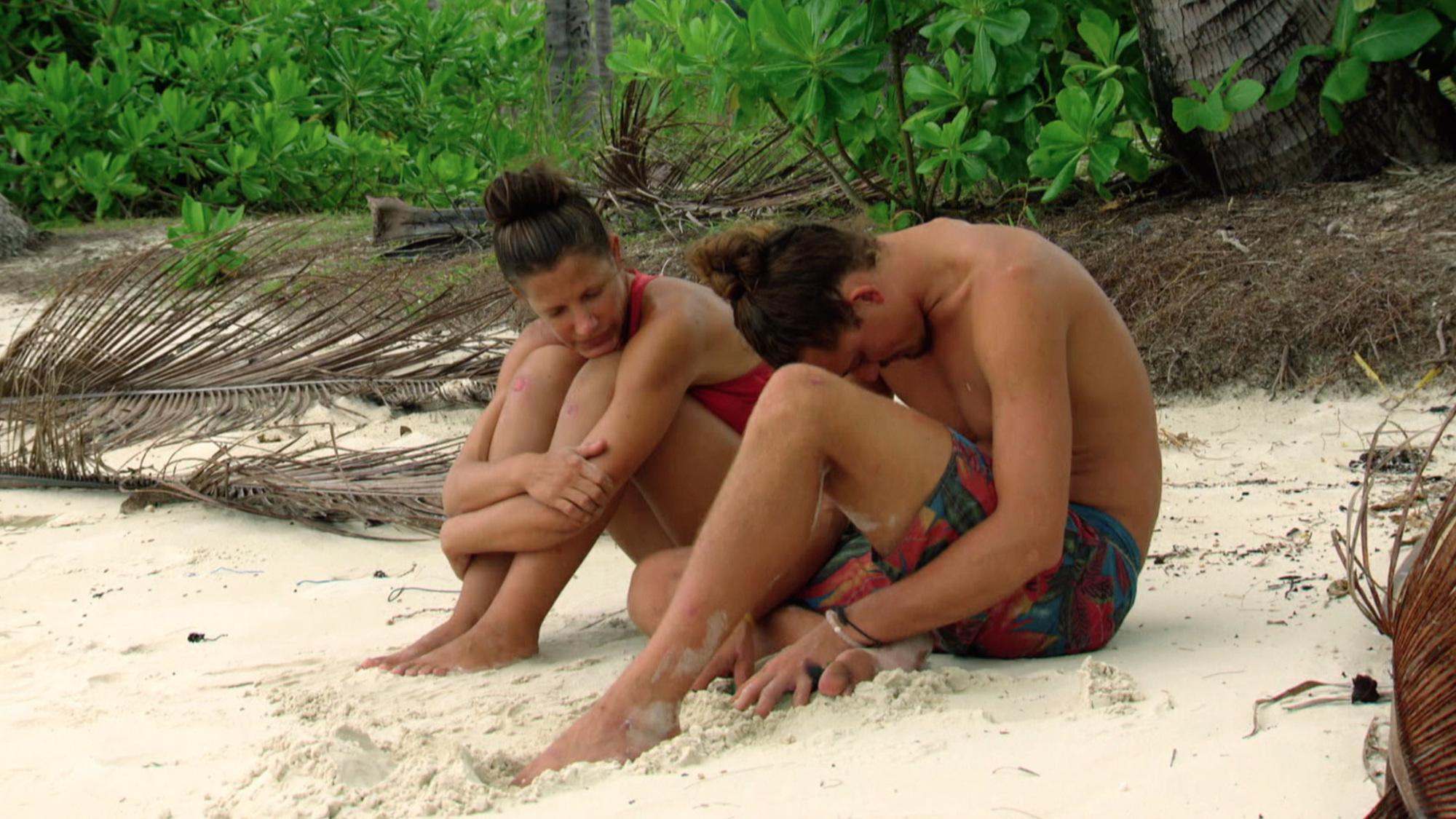 Kelly Wiglesworth with Joe Anglim on Survivor: Second Chance