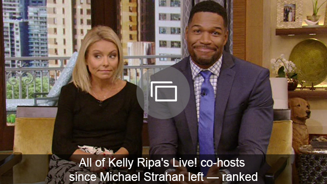 Kelly Ripa Live! co-hosts slideshow