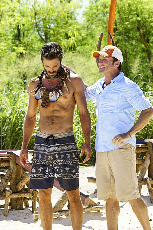 Ken McNickle wins Immunity challenge on Survivor: Millennials Vs. Gen-X