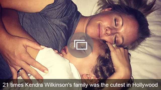 Kendra Wilkinson family slideshow