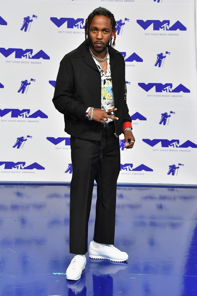 Best Dressed at the 2017 VMAs: Kendrick Lamar