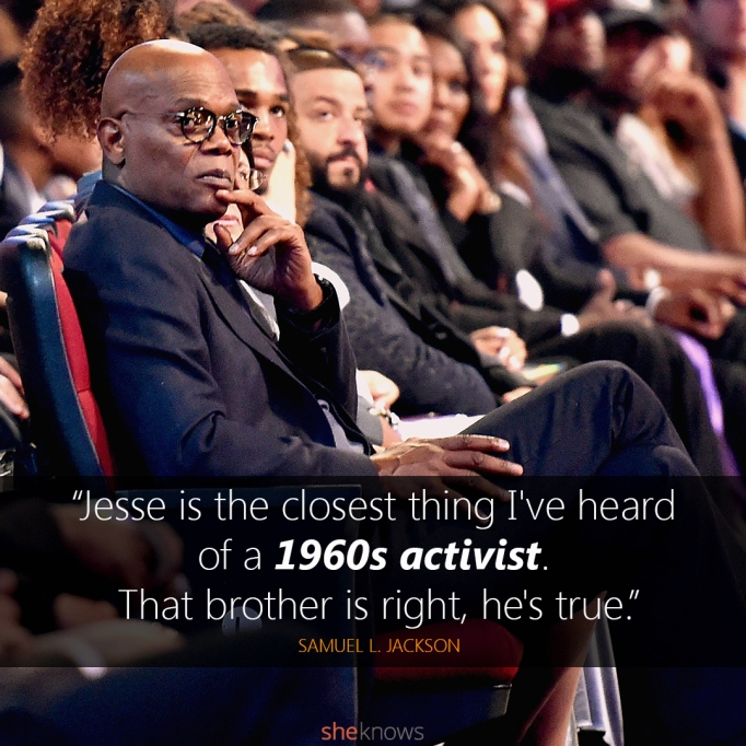 Samuel L. Jackson BET Awards quote