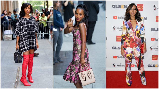 Kerry Washington Fall Fashion