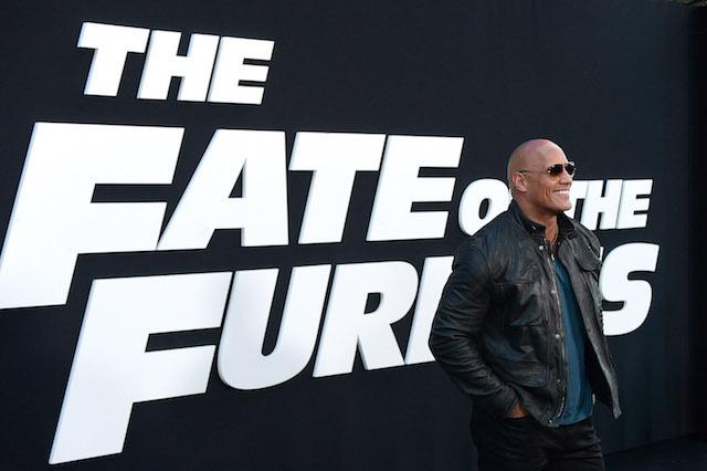 Dwayne Johnson Fate Furious Premiere
