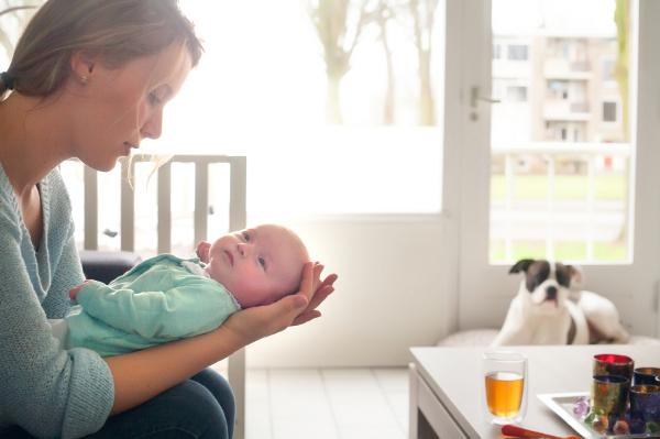 How having a baby affected my