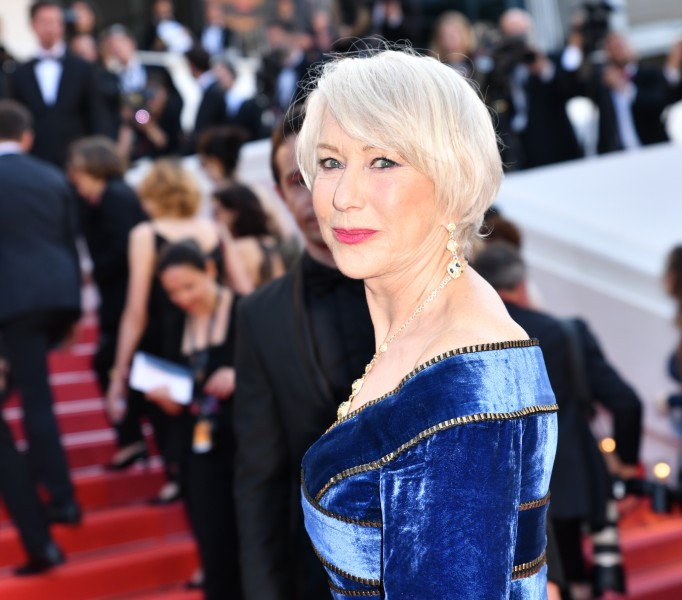 Helen Mirren attends the 71st annual Cannes Film Festival