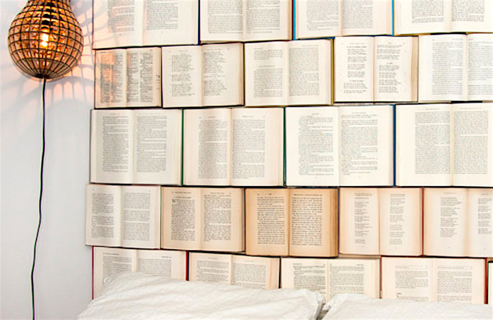 12 Fun Decorating Projects Using Books Image Design Everyday