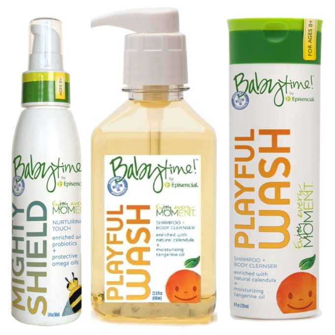 BabyTime! by Episencial Mighty Shield and Playful Wash
